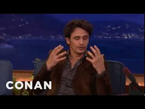 James Franco's Sex Tape Disaster - CONAN on TBS