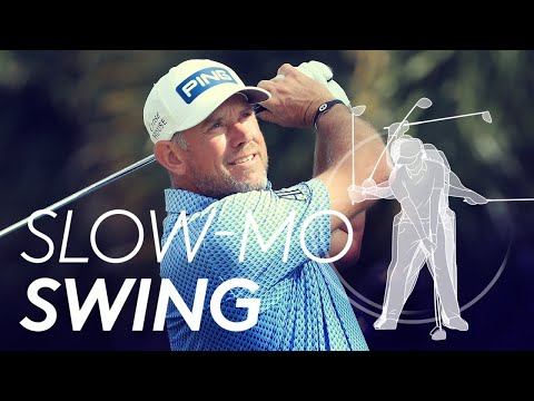 Lee Westwood's golf swing in Slow Motion