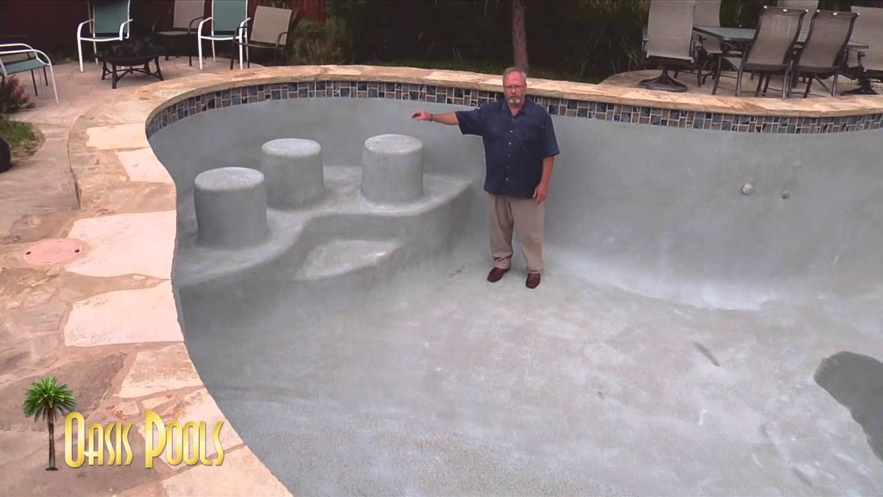 Oasis Pools Drainless Pools Austin Pool Builder Oasis Pools Youtube