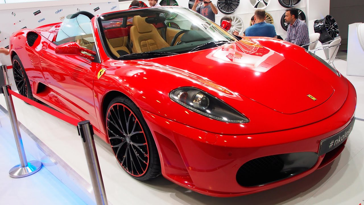 Ferrari F430 Spider Tuning Exterior Walkaround Youtube
