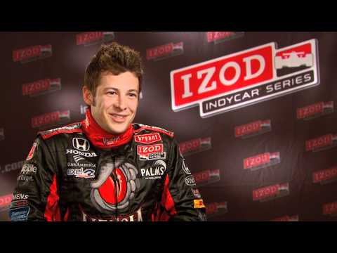 Bobby Rahal Acura on Izod Indycar Series Driver Marco Andretti Answers 11 Fan Questions In