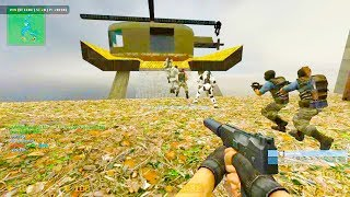 Counter Strike Source - Zombie Escape Mod online gameplay on Reloaded map
