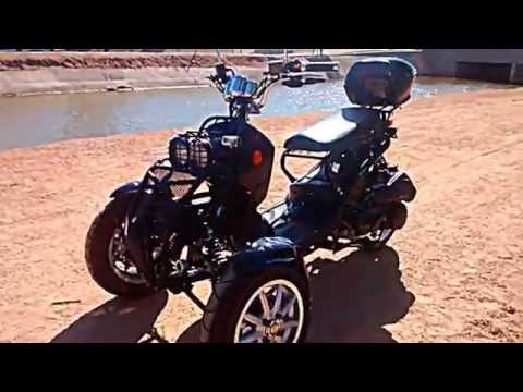 three 3 wheel Motor Scooter Ryrus Style 150CC perfect for job commute (Tempe Scottsdale Phoenix) ASU