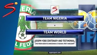 Joseph Yobo Testimonial: Team Nigeria vs Team World