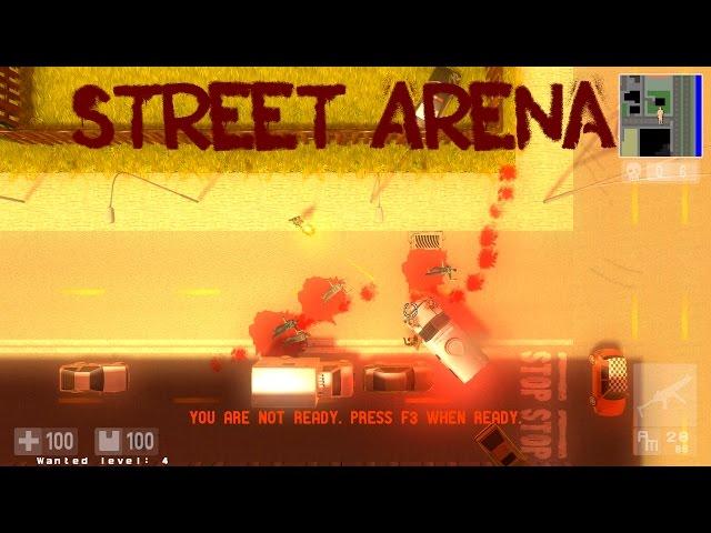 Руководство запуска: Street Arena по сети
