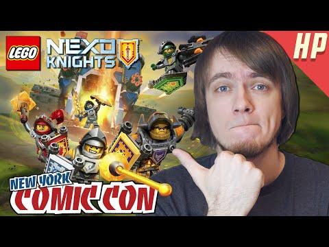 LEGO NEXO KNIGHTS - Репортаж с NY Comic Con
