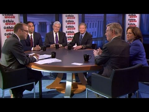 The Political Positioning Surrounding America's Budget, Sequester Cuts: 'This Week' Roundtable