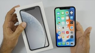 iPhone XR Unboxing & Overview with Camera Samples