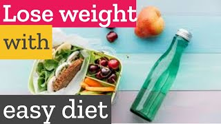 How to lose weight naturally with an easy and effective diet?