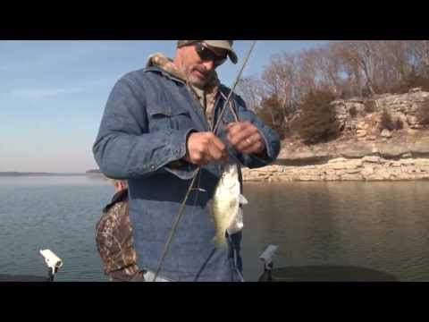 Crappie Fishing on Stockton Lake - HOW TO DEEP WATER