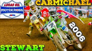 Ricky Carmichael vs James Stewart - 2006 Outdoors