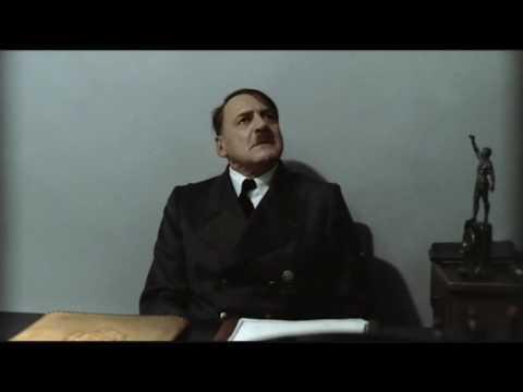Hitler is informed he is sitting down