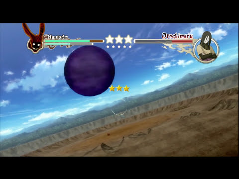 Naruto Shippuden: Ultimate Ninja Storm 2 - 4-Tails vs. Orochimaru Battle HD