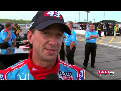 John Andretti's Kansas Post Qualifying Interview Video