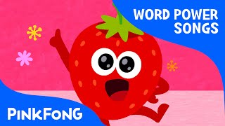 Colorful Fruits   Word Power   PINKFONG Songs for Children