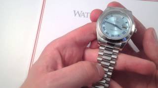 Rolex Day-Date II 218206 Luxury Watch Review