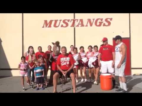 Prosser High School Principal accepts ALS Challenge