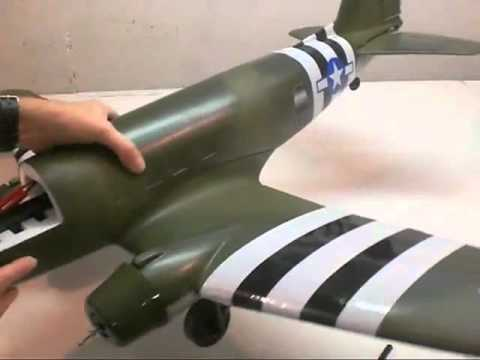 Dynam C47 Transporter Brushless RC Airplane Build By Jeff Part Two