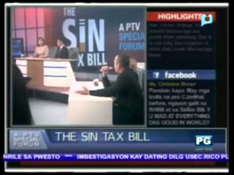 Part 2: Sin Tax Bill a PTV Special Forum - PTV Special Coverage [Sept. 14, 2012]