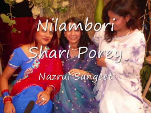 Nilambori Shari Porey- Nazrul Song video