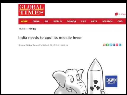 Chinese Media admonished India