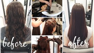 My Hair Transformation || Keratin Complex Smoothing Treatment || Eliana Jalali