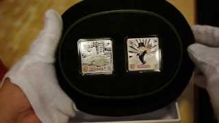 2013 Niue $2 Monopoly 1oz X 2 Silver Proof Set