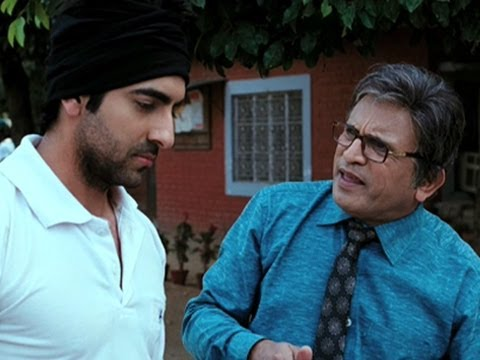When Vicky Arora Became A Father - Vicky Donor video