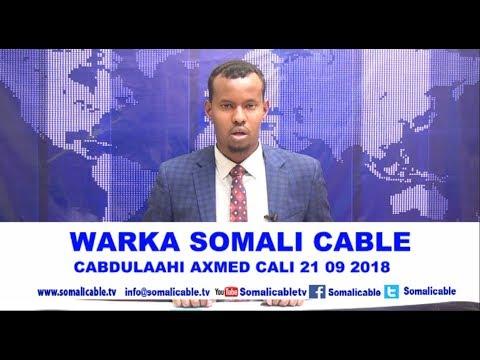 WARARKA SOMALI CABLE IYO CABDULAAHI AXMED CALI 21 09 2018 thumbnail