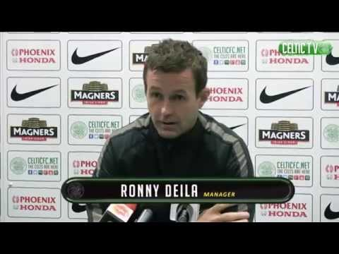 Celtic - Ronny Delia post match Dundee 22/12/2014