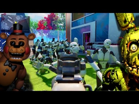 Black Ops 3 - Nuketown iRobot / Five Nights At Freddy's Easteregg (Call of Duty BO3)
