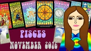 PISCES  NOVEMBER 2016 Tarot psychic reading forecast predictions free