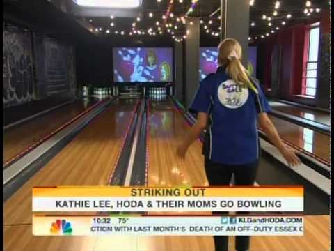 Kathie Lee and Hoda Visit Bowlmor Lanes Midtown