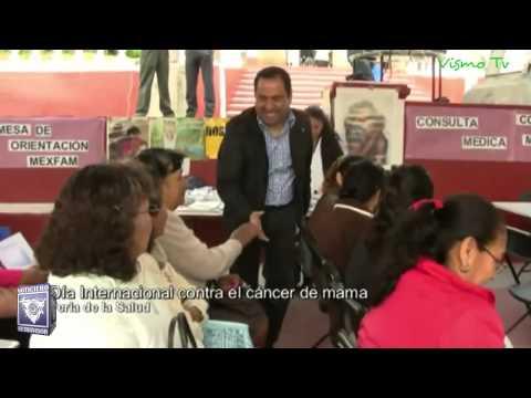 Se llevó a cabo en Tepeji Feria de Salud para prevenir el cáncer de mama