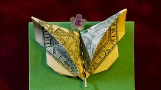 Dollar Origami: Elegant Butterfly