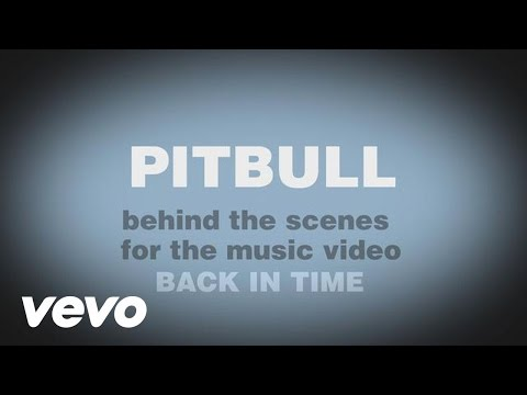 Image video Pitbull - Back In Time (Behind The Scenes)