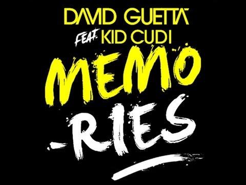 David Guetta feat Kid Cudi - Memories Instrumental  With Backing Vocals