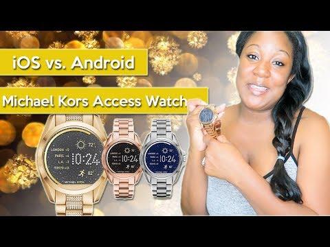 Android vs. iOS ... Michael Kors Access Smart Watch !!! | MsBritbrat1986
