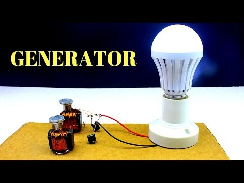Magnet - Free Energy Generator Light For Lifetime - Using Magnets And Copper Wire thumbnail