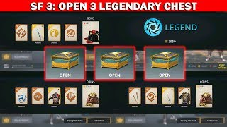 Shadow Fight 3 Official: Open 3 Legendary Chest and Fighting Season √