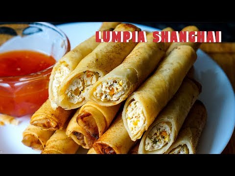 Lumpia Shanghai Chicken Spring Rolls | Snack Recipes | Halal Filipino Food