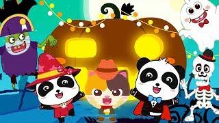 🎃 I Love Halloween   Baby Panda's Halloween Costume Show   Halloween Songs   Baby Cartoon   BabyBus