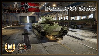 World of Tanks // Panzer 58 Mutz // Ace Tanker // Confederate // Xbox One