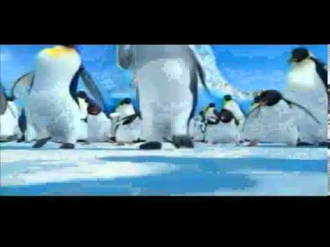 Cartoon network LA Mes de peliculas Happy feet el  pinguino  Bumpers.