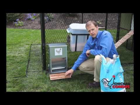 Exclusive Automatic Chicken Feeder from Chicken Condos