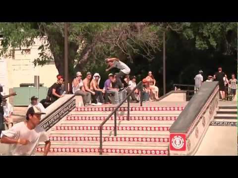 ELEMENT &quot;AUSTIN&quot; MAKE IT COUNT - 2012 INTERNATIONAL SKATE CONTEST SERIES