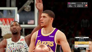 NBA 2k19 MyTeam Hornets Schedule Challenges  Supreme Gang vs Lakers