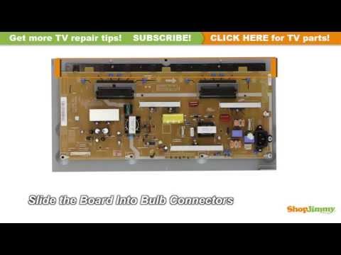 Samsung BN44-00289B Power Supply / Backlight Inverter Model LN32B360C5DXZA Replacement TV Repair