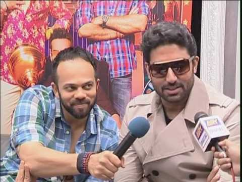 Mk Maroof  With Abhisheikh Bachan , Rohit Shetty ,prachi Desai , Bol Bachan  Interview.mpg video