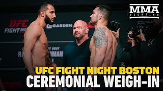UFC on ESPN 6 Ceremonial Weigh-In Highlights - MMA Fighting
